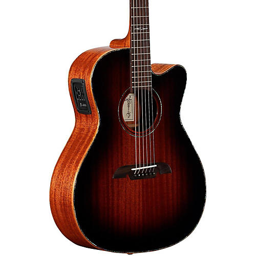 Alvarez MFA66CE Masterworks OM/Folk Acoustic-Electric Guitar