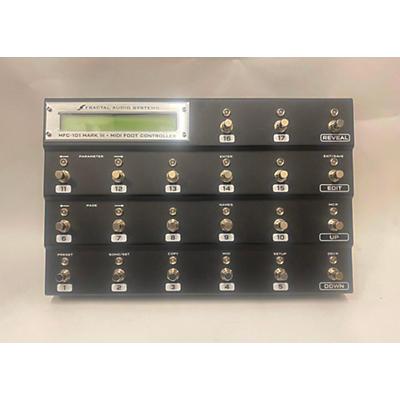 Fractal Audio MFC-101 Mk III MIDI Foot Controller Effect Processor