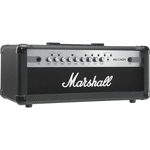 marshall mg series mg100hcfx 100w guitar amp head carbon fiber rh musiciansfriend com Fender Guitar Speaker Cabinet Wiring Diagrams 4 Ohm Wiring-Diagram