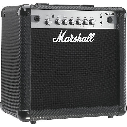 marshall mg series mg15cfr 15w 1x8 guitar combo amp musician 39 s friend. Black Bedroom Furniture Sets. Home Design Ideas