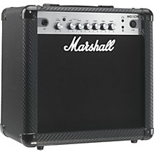 Open Box Marshall MG Series MG15CFR 15W 1x8 Guitar Combo Amp