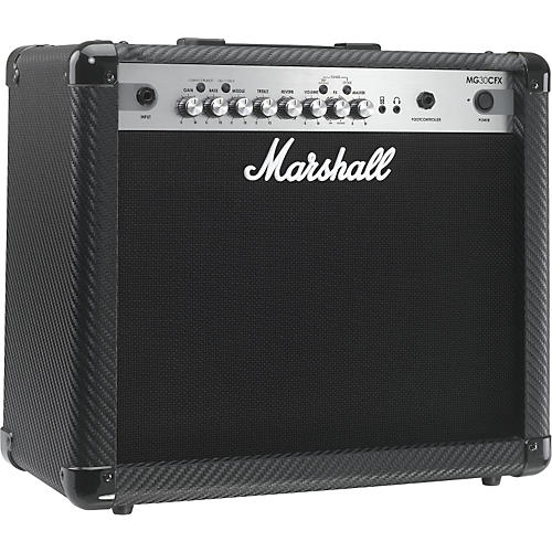 marshall mg series mg30cfx 30w 1x10 guitar combo amp musician 39 s friend. Black Bedroom Furniture Sets. Home Design Ideas