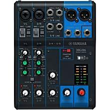 Open BoxYamaha MG06 6-Channel Mixer