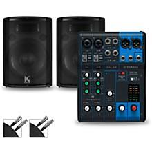 Yamaha MG06 Mixer and Kustom HiPAC Speakers
