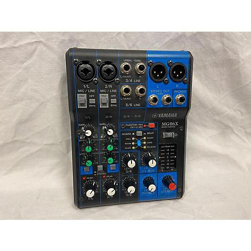 MG06X Unpowered Mixer