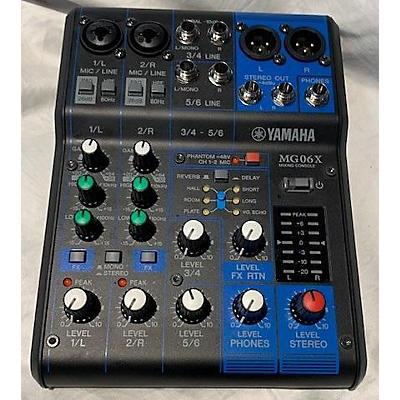 Yamaha MG06X Unpowered Mixer