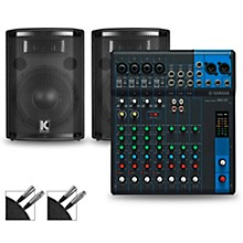 MG10 Mixer and Kustom HiPAC Speakers 10