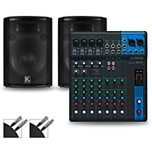 MG10 Mixer and Kustom HiPAC Speakers 12