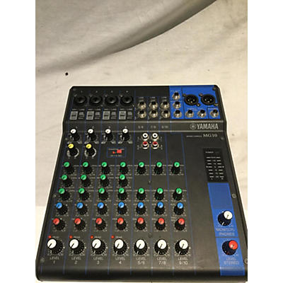 Yamaha MG10 Unpowered Mixer