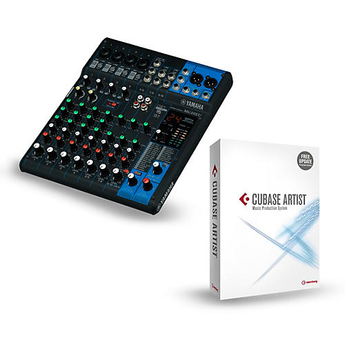 yamaha mg10xu 10 channel mixer with cubase artist musician 39 s friend. Black Bedroom Furniture Sets. Home Design Ideas
