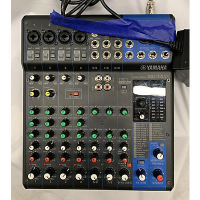 Yamaha MG10XU 10 Channel Mixer With Effects Unpowered Mixer