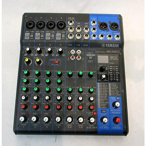 MG10XU 10 Channel Mixer With Effects Unpowered Mixer