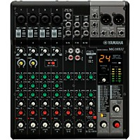 MusiciansFriend.com deals on Yamaha MG10XU CV 10-Channel Mixer With Effects