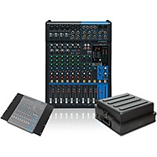 Yamaha MG12XU 12 Channel Mixer with Rack Mount Kit and Case