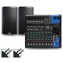 Yamaha MG12XUK Mixer with Alto TS2 WXUS Speakers