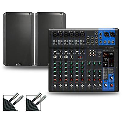 Yamaha MG12XUK Mixer with Alto TS3 Speakers