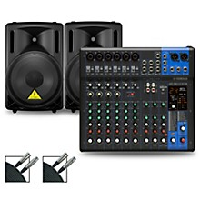 Yamaha MG12XUK Mixer with Behringer Eurolive BD Speakers