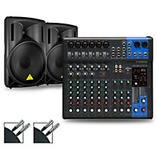 Yamaha MG12XUK Mixer with Behringer Eurolive BD Speakers