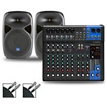 MG12XUK Mixer with Gem Sound PBX Speakers 12