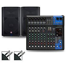 MG12XUK Mixer with Harbinger Vari V22 Speakers 12