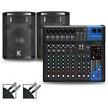 MG12XUK Mixer with Kustom HiPAC Speakers 10
