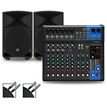 Yamaha MG12XUK Mixer with Mackie Thump Speakers