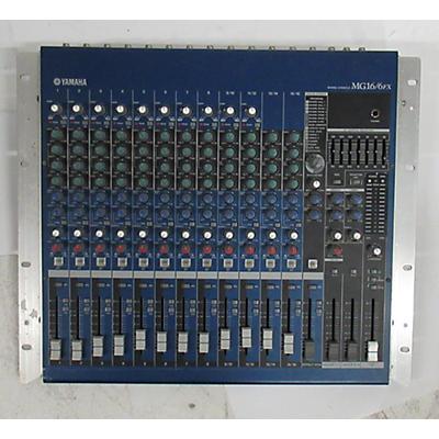 Yamaha MG16/6FX Unpowered Mixer
