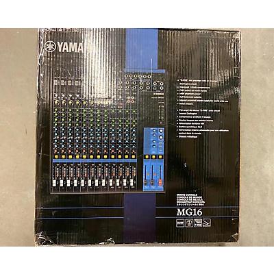 Yamaha MG16 Powered Mixer