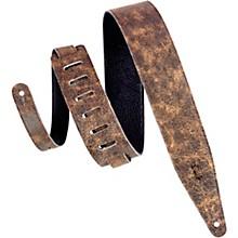 "Levy's MG317BOG 2.5"" Brown Garment Leather Guitar Strap"