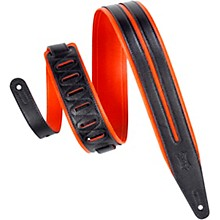 "Levy's MG317DRS 2.5"" Orange Garment Leather Guitar Strap"