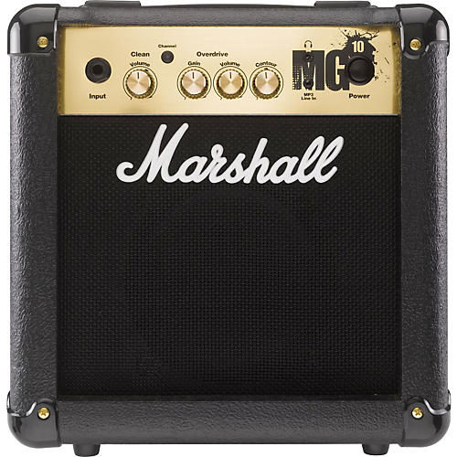 marshall mg4 series mg10 10w 1x6 5 guitar combo amp black musician 39 s friend. Black Bedroom Furniture Sets. Home Design Ideas