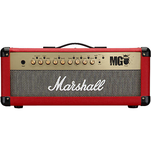 marshall mg4 series mg100hfx 100w guitar amp head musician 39 s friend. Black Bedroom Furniture Sets. Home Design Ideas