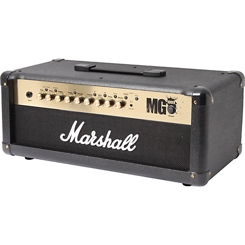 marshall mg4 series mg100hfx 100w guitar amplifier head musician 39 s friend. Black Bedroom Furniture Sets. Home Design Ideas