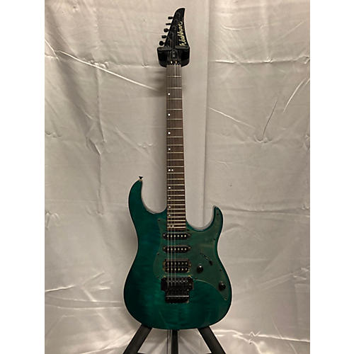 Washburn MG70 Solid Body Electric Guitar Emerald Green