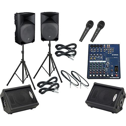 Yamaha MG82CX / Thump TH-15A Mains & Monitors Package