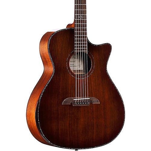Alvarez MGA77CEAR Masterworks Grand Auditorium Acoustic-Electric Guitar Shadow Burst