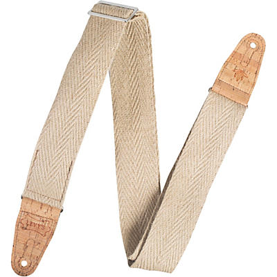 Levy's MH8P 2 inch Wide Hemp Guitar Strap
