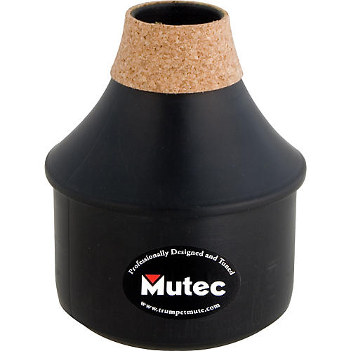 Mutec MHT162 True Tone Series Black Polymer Trumpet Practice Mute