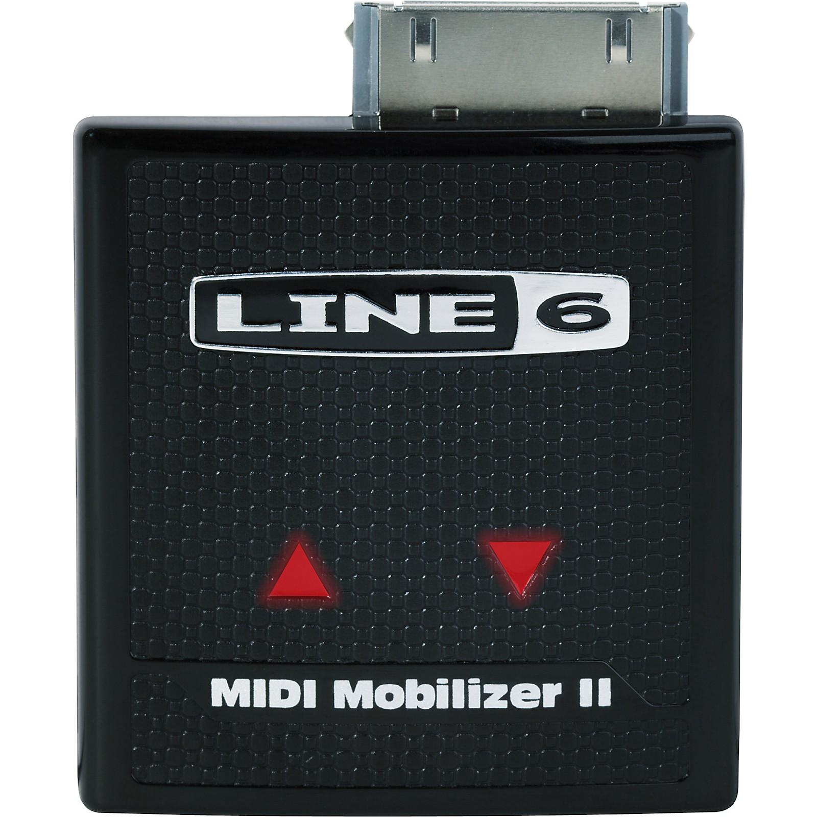 Line 6 MIDI Mobilizer II Portable Interface