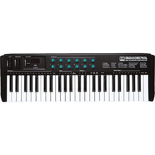 Gear One MIDIControl 49-Note MIDI Controller