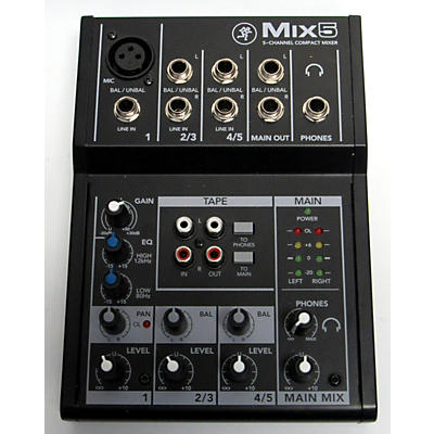 Mackie MIX 5 Unpowered Mixer