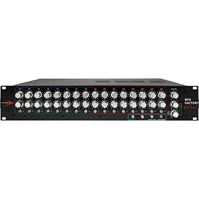 A Designs MIX FACTORY 16-Channel Stereo Summing Mixer