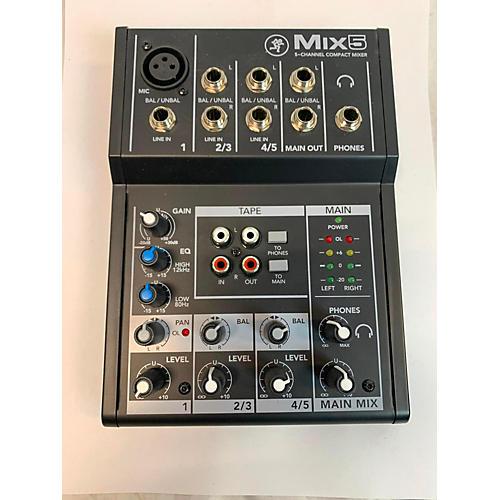 MIX5 Powered Mixer