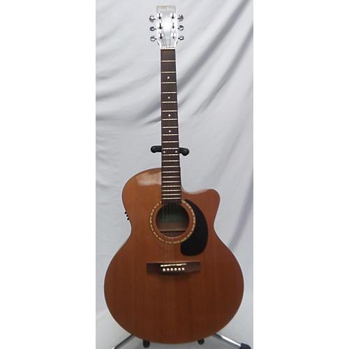 Simon & Patrick MJ CW Acoustic Electric Guitar Natural