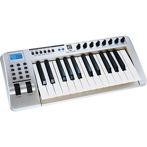 evolution mk 425c midi controller musician 39 s friend. Black Bedroom Furniture Sets. Home Design Ideas