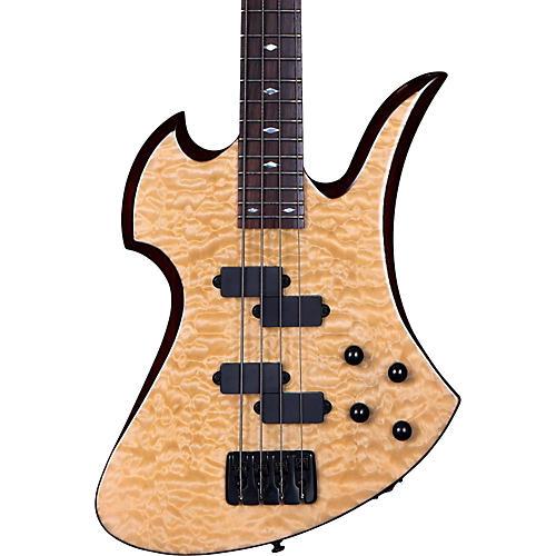B.C. Rich MK3B Mockingbird Quilted Maple Electric Bass Guitar