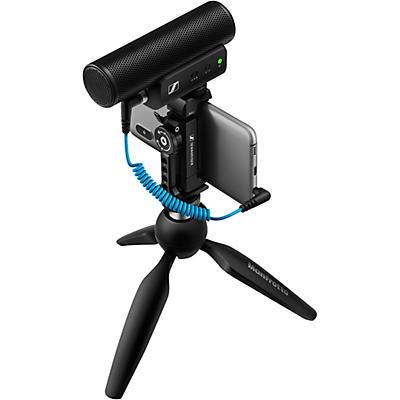 Sennheiser MKE 400 MOBILE KIT - Includes MKE 400 Shotgun Microphone, Manfrotto PIXI Mini Tripod and Sennheiser Smartphone Clamp