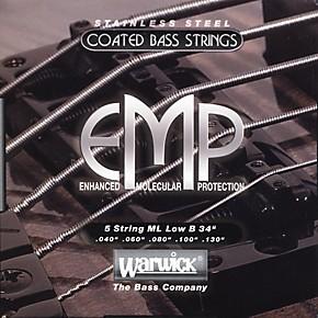 Bass Strings Medium Vs Light : warwick ml5b emp coated 5 string bass strings medium light musician 39 s friend ~ Vivirlamusica.com Haus und Dekorationen