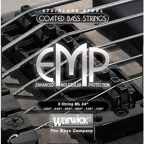 Warwick ML6 EMP COATED 6-String Bass Strings Medium Light