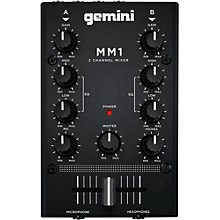 Open Box Gemini MM1 2 Channel Audio Mixer